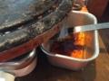 サムギョプサルの油