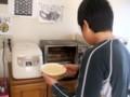 2011年2月26日-Yoshiがチーズ・ケーキをつくってくれました