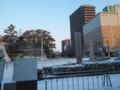2016年1月23日-先日の寒波で雪景色となった福山駅前