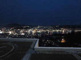 2019年3月9日-列車での長崎旅行は疲れましたが,夜景が綺麗でした