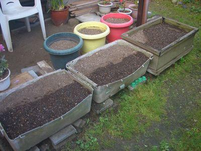 夏野菜植え付け前
