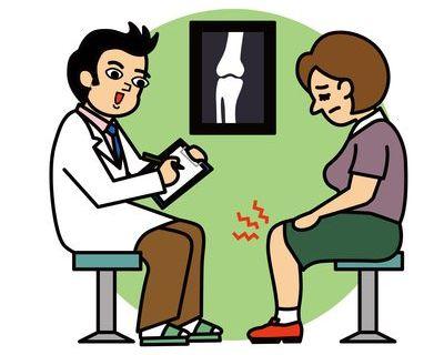 股関節の痛みが膝の痛みの原因