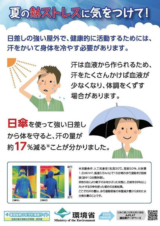 環境省日傘の活用推進