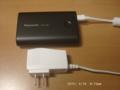 モバイルバッテリー購入(Panasonic QE-PL302-K)、Nexus7(2013)に使用
