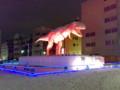 JR福井駅前 ティラノサウルス