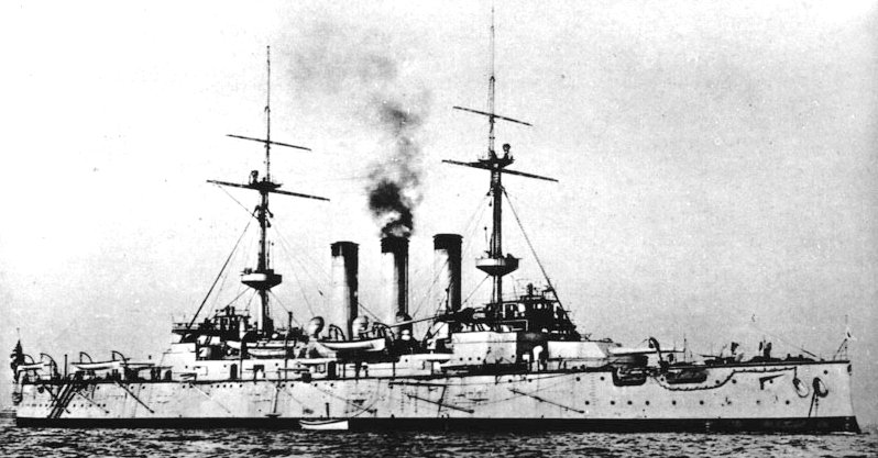 Battleship_Shikishima