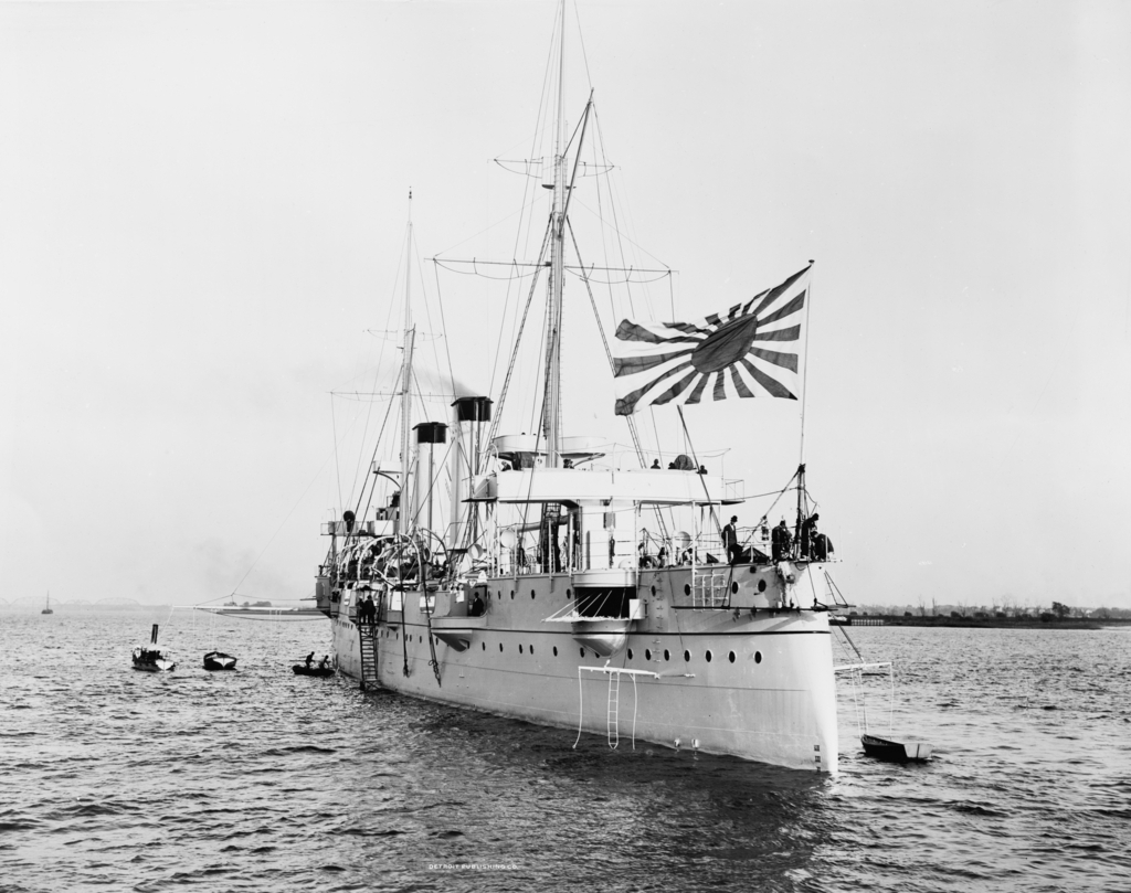 Kasagi_1898_in_UK