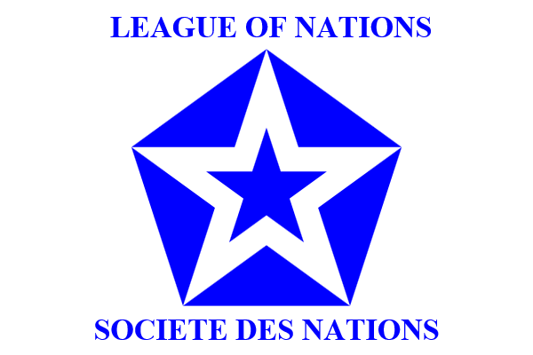 League of Nations flag (1939) - Symbol of the League of Nations