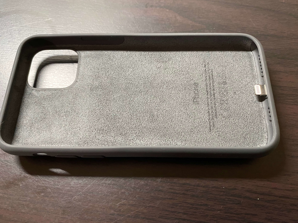 iPhone 11 Pro Smart Battery Caseの内側