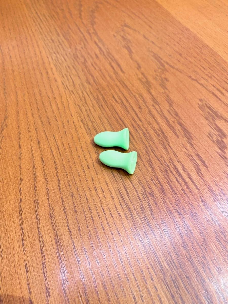 遮音性抜群のMOLDEXの耳栓