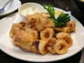 美味的炸魷魚圈