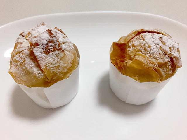 和菓子菜の花の「パリパリ焼きモンブラン」
