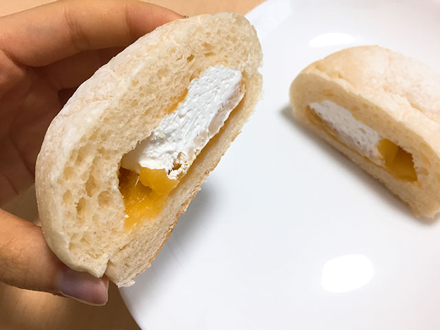 大福みたいなホイップあんぱん 安納芋