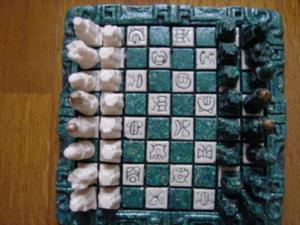 メキシコ土産のチェス盤