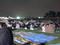 2008年 調布市花火大会 開会直前 集まる人々