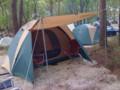 [キャンプ場] テント
