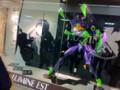 [エヴァンゲリオン][ルミネ][東京][新宿][フィギュア]新宿駅東口のルミネにエヴァンゲリオンが