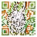 [アイコン][うさぎ][QRコード]ひげダイス アイコン