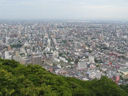 札幌円山からのながめ