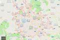 ローマ地図