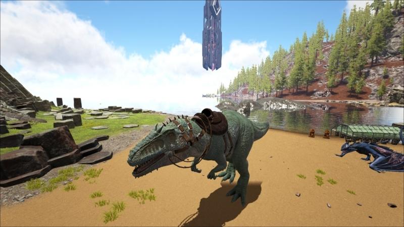 Ark アイランド 恐竜