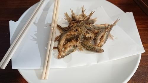 川魚のフライ