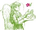 [天使][花][2色+白]Wacomさん、ペンタブレット欲しい!