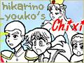 [私のサイトのバナー][Chixi.jp(ちぃ)][文字以外自作][120 × 90 (国際標準規格]「光野 陽子のプロフィール」 Chixi.jp - 01