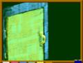 [物語][扉][こくばん.in]黄金の取っ手のある古いドア