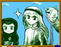 [民族衣装][イスラム教徒]白衣と黒衣? ~ ジブリールくんとマリヤちゃん 01