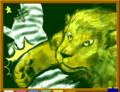 [現代の生き物][陸の生き物][ライオン][シマウマ][肉食][草食][the mammals]ケモノ vs ケモノ! ‥ぼくは、このあと、にげました。