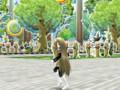 [パーティキャッスル][パーティーキャッスル][アバター][チャット][プテラ・ポポロ・タニ]2010.5.8 0時ちょっと過ぎ。広場にデビュー。誰もいませんでしたが。