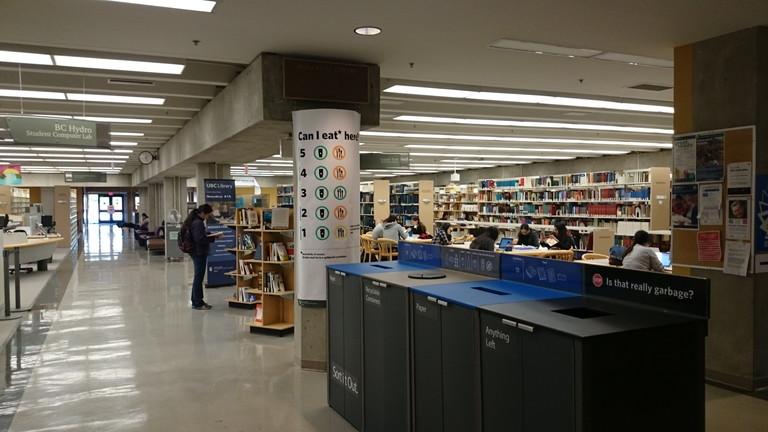 Koerner Library内部