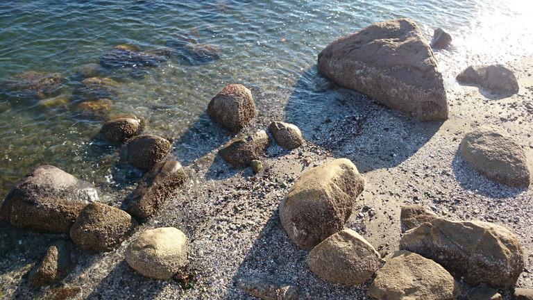 スタンレーパーク岩