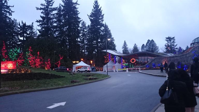 バンデューセン植物園入口