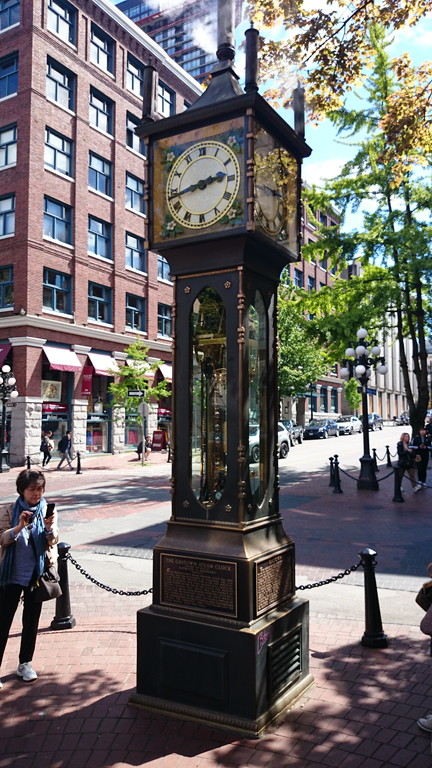 ガスタウンの蒸気時計