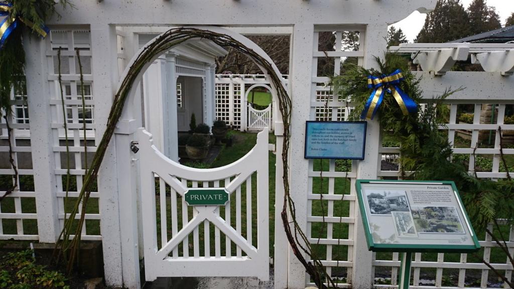ブッチャー夫人の個人庭園
