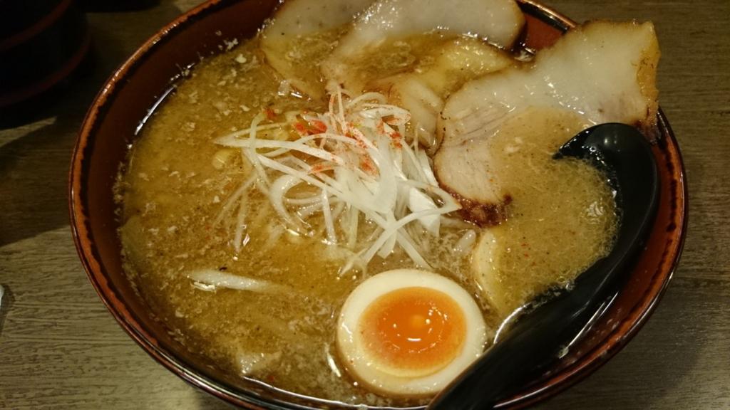 炙りトントロチャーシュー麺