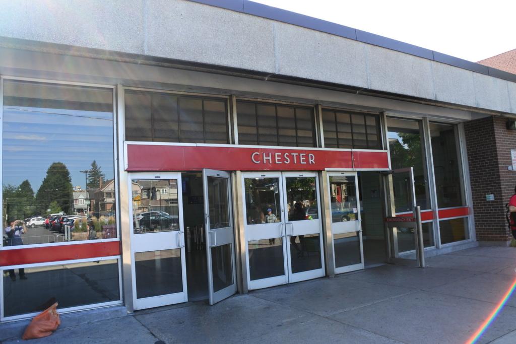 Chester駅