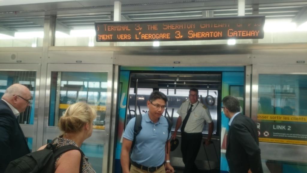 Terminal Link Trainの写真