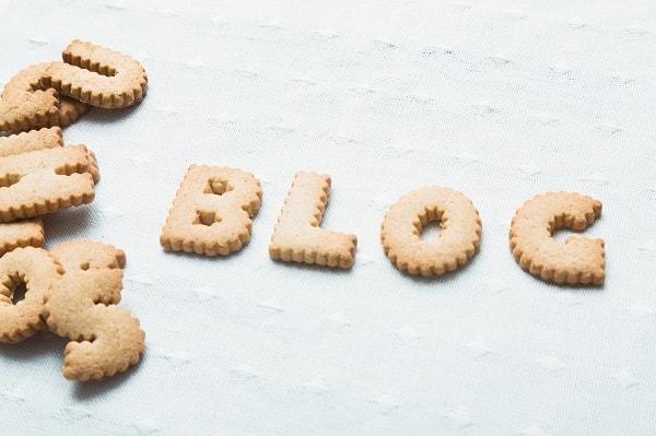 ブログのクッキー
