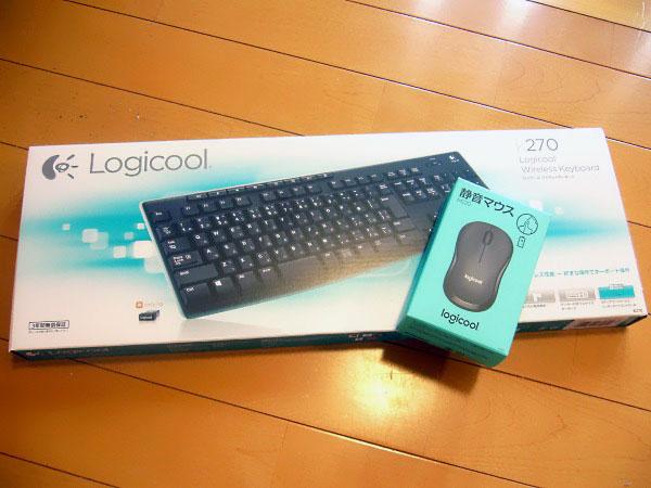Logicoolのキーボードとマウス