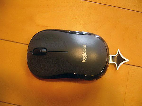 Logicoolの静音マウス