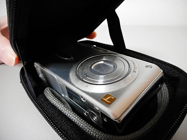 LUMIX DMC-FX8を収納