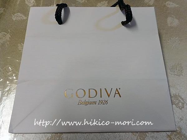 GODIVAの紙袋