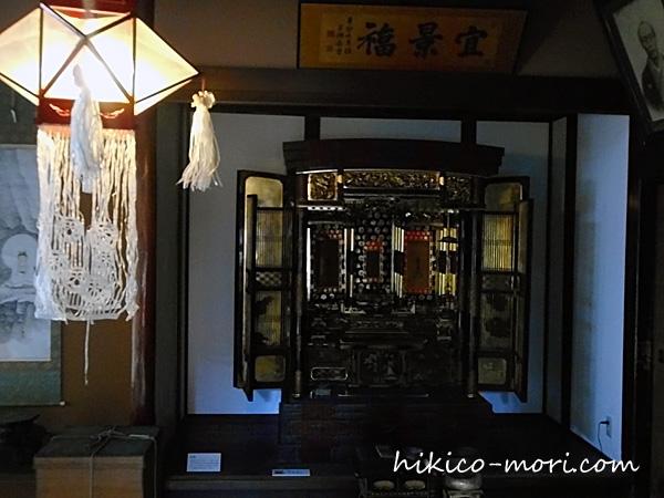 旧小澤家住宅の仏壇