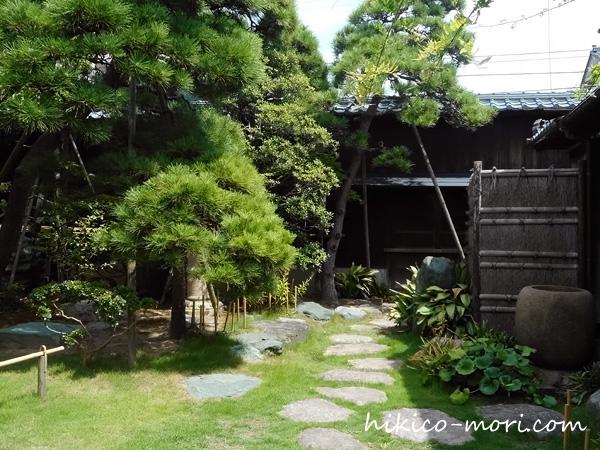 旧小澤家住宅の庭園