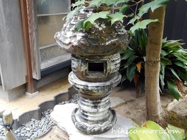 清水焼の灯籠