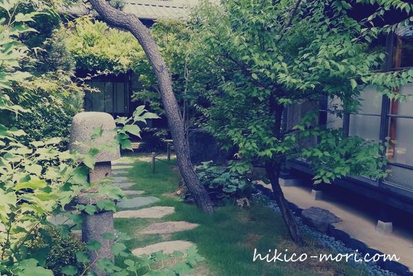 旧小澤家の庭