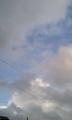 青空と雨雲